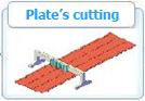Plate's Cutting